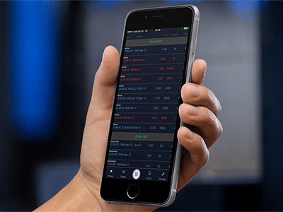 Commodity Trading App